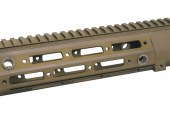 "Flash news: 416 REM 10.5"" Rail for WE 416 AEG/GBB in Dark Earth"