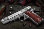 Colt 1911 Rail Gun Stainless