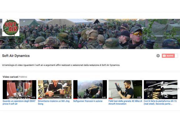 Soft Air Dynamics è su Youtube