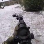 Quando un operatore degli SWAT prova il soft air
