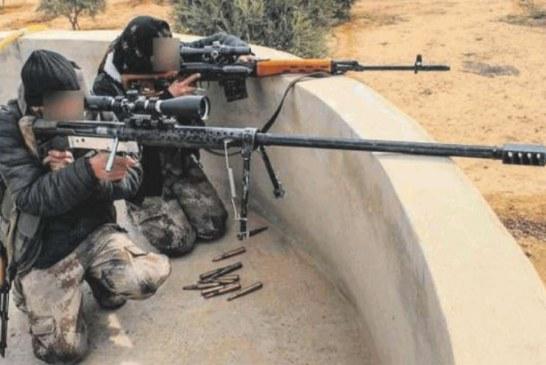Intervista al cecchino che fa strage di daesh
