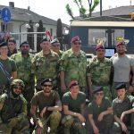 La gara militare dei Volontari di Guerra di San Zenone