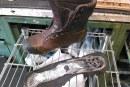 Pulizia e manutenzione delle calzature da campo
