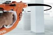La pistola giocattolo che spara curvando