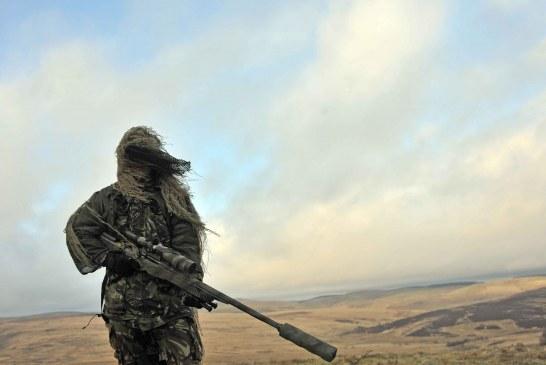Gli sbalorditivi shots degli sniper britannici