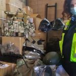 Sequestrato a Linate materiale per soft air irregolare