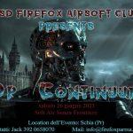 Firefox, Op. Continuum, primo evento SASF a Parma