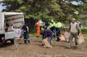 Associazioni di soft air puliscono i boschi di Sanremo