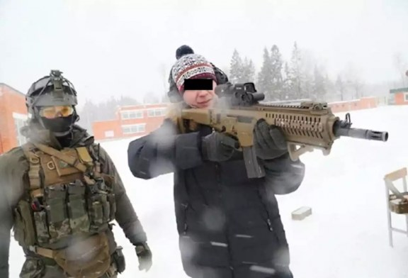 Gli Spetsnaz russi utilizzano il Beretta ARX-160A2
